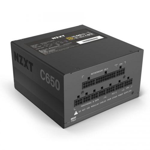 02 NZXT C 650 Power Supply