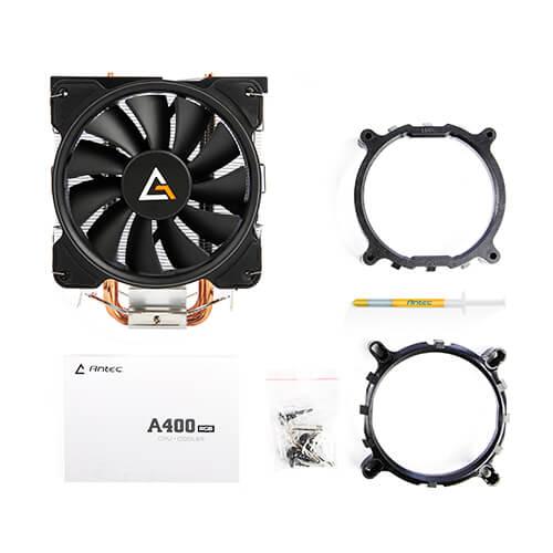 07 Antec A400 RGB CPU air cooler