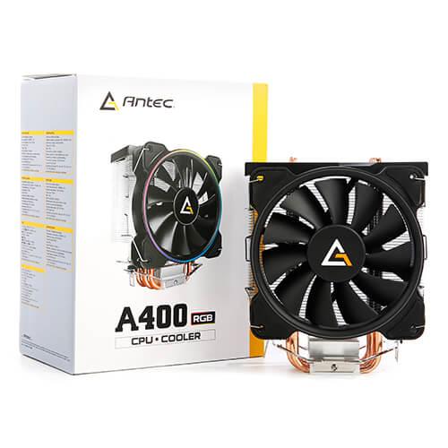 08 Antec A400 RGB CPU air cooler
