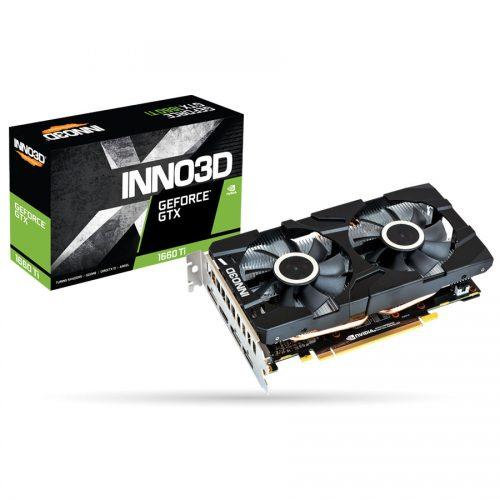 INNO3D GEFORCE GTX 1660 Ti TWIN X2 DDR6