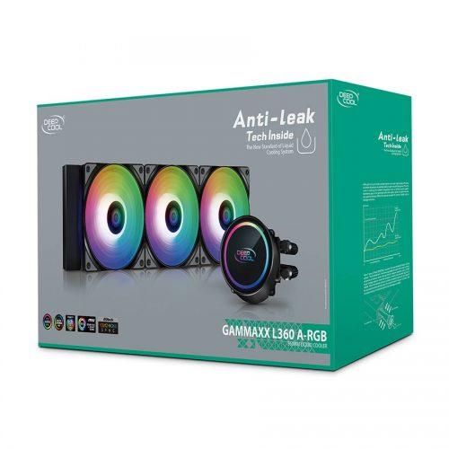 07 Deepcool GAMMAXX L360 A-RGB