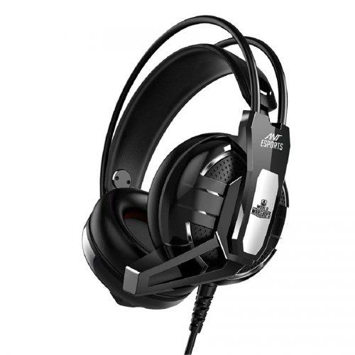 01 Ant Esports H520W Black Gaming Headset