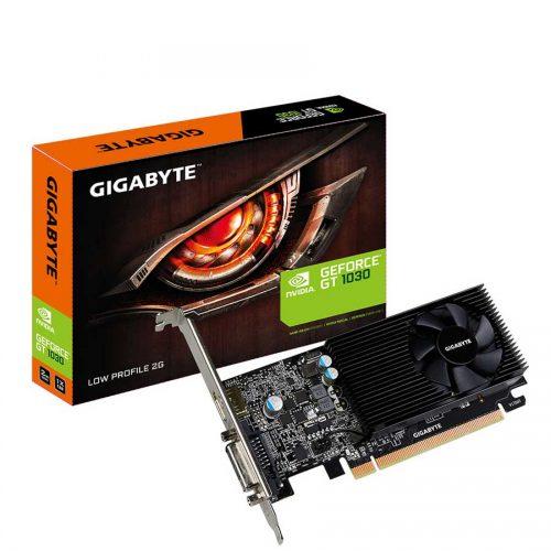 01 Gigabyte GT 1030 low profile 2GB DDR5